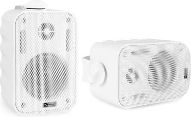 "BGO30 Speaker Set In/Outdoor 3"" 60W White"