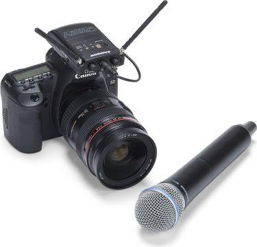 Samson Concert88 Handheld Camera System, Frequency-Agile UHF Wirele