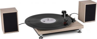 RP155LW Record Player Set Lightwood