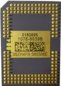 Projektor DMD chip 1076-6039B (1076-6038B, 1076-601AB)