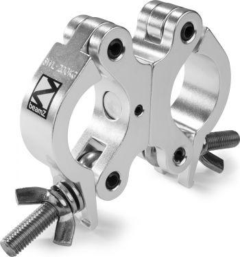 Professional Dobbelt-Clamp BC50-200D, slimline, godkendt til 200kg, Aluminium