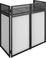 DB4 Pro Foldable DJ Booth System with 4 screens