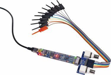 BitScope Micro USB oscilloskop, 2+6 kanaler, 20MHz