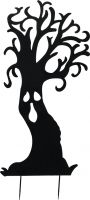 Halloween, Europalms Silhouette Metal Ghost Tree, 150cm