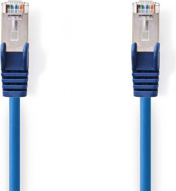 Nedis Cat 5e SF/UTP Network Cable | RJ45 Male - RJ45 Male | 3.0 m | Blue, CCGP85121BU30