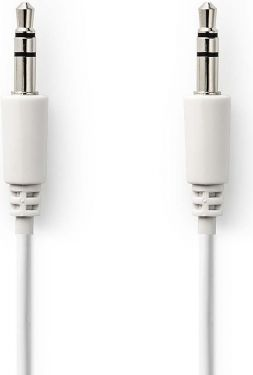 Nedis Stereo Audio Cable | 3.5 mm Male - 3.5 mm Male | 2.0 m | White, CAGP22005WT20