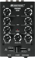 DJ Equipment, Omnitronic GNOME-202 Mini Mixer black