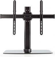 Nedis TV-stativ med fullt rörelseomfång | 32–65 tum | Max 45 kg | 3 höjdlägen, TVSM2330BK