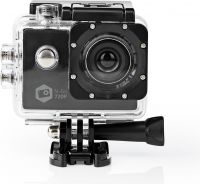 Nedis Action Cam | HD 720p | Waterproof Case, ACAM11BK