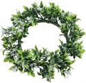 Christmas Decorations, Europalms Jasmin Wreath, 30cm
