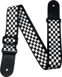 """Musikinstrumenter, Profile SH13 Poly Strap Checkers, 2"""" Terylene sublimation printed g"""