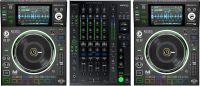 Denon DJ Prime Series Bundle, 2 x SC5000M afspillere, X1800 Mixer