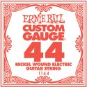 Musikinstrumenter, Ernie Ball EB-1144, Single .044 Nickel Wound string for Eletric gui