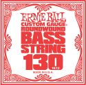 Musikinstrumenter, Ernie Ball EB-1613, Single .130 Nickel Wound string for Electric Bass