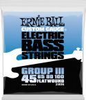 Bas Strenge, Ernie Ball EB-2806, Flatwound Semi-flex 45-100