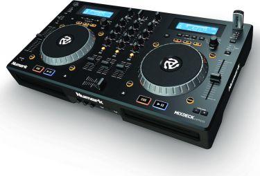 Numark MIXDECK-EXPRESS MkII, Premium DJ Controller with CD and USB