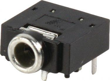 Valueline Stereo Connector 3.5 mm Hunn PVC Svart, JC-128
