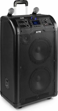 "PA300 Portable 2 x 8"" Sound System SD/USB/MP3/Bluetooth"