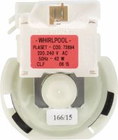 Whirlpool Pump Original Part Number 481236018558, 481236018558