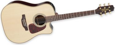 Takamine P5DC, Dreadnought cutaway.CTP-3 Cool Tube preamp