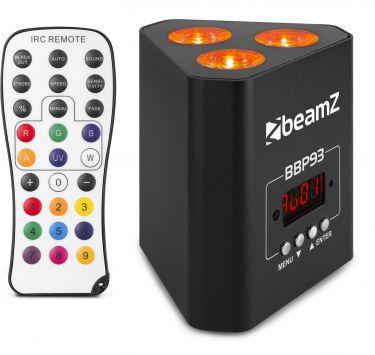 BBP93 Battery Uplight Par 3x 10W