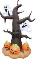 Halloween, Europalms Inflatable figure Spooky Tree, 240cm