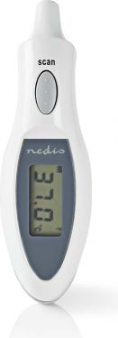 Nedis Digital Ear Thermometer | 1 Second | 10 Memory | Auto-Off, PETH111DWT