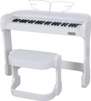 Artesia AC49WHT White piano incl. stand, Music is Fun and so is the