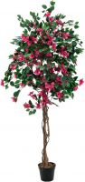 Europalms Bougainvillea, artificial plant, red, 150cm