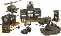 Sluban Building Blocks Army Serie Headquarter, M38-B7100