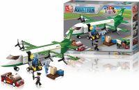 Sluban Building Blocks Aviation Air Freighter, M38-B0371