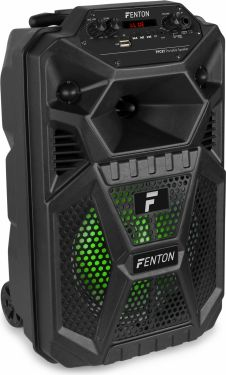"""FPC8T Portable Party Speaker Rechargeable 8"""" with Trolley"""