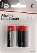 HQ Alkaline Battery C 1.5 V 2-Blister, HQLR14/2BL