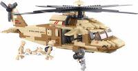 Sluban Building Blocks Army Serie Utility Helicopter, M38-B0509