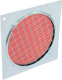 Coloured Filter, Eurolite Red Dichroic Filter silver Frame PAR-64