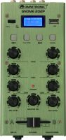 Small 2 Channels, Omnitronic GNOME-202P Mini Mixer green