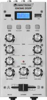 Small 2 Channels, Omnitronic GNOME-202P Mini Mixer silver