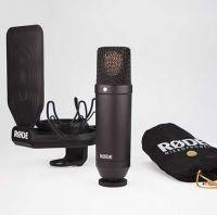 Røde NT1-KIT Studiomikrofon m/ Rycote SMR ophæng/popfilter