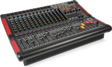 PDM-S1604A 16-Channel Stage Mixer with Amplifier