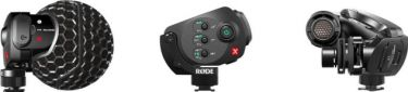 Røde Video mikrofon StereoMic X med kamerasko