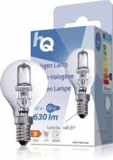 Belysning, HQ Halogen Lamp E14 Ball 42 W 630 lm 2800 K, HQHE14BALL003