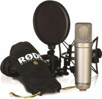 Røde NT1A Studiomikrofon m/ SM6 ophæng/popfilter & XLR kabel