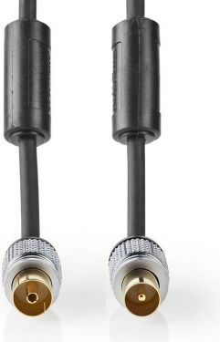 Nedis Coaxial Cable 90 dB | IEC (Coax) Male - IEC (Coax) Female | 1.5 m | Anthracite, CSGC40000AT15