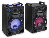 "VS12 Active Speaker Set 12"" Bluetooth, LED 1200W"