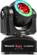 Moving Heads, Illusion 1 Moving Head LED Beam with LED Ring