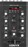 Lille 2-kanals mixer med MP3/USB og Bluetooth, STM500BT