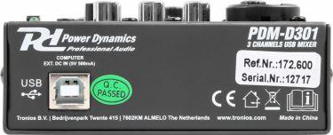 PDM-D301 3-Channel USB Mixer