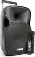 "P12BT Portable Sound System 12"" BT/MP3/USB/SD/VHF/IRC"