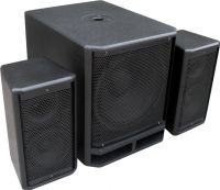"""PD Combo 1800 18"""" Subwoofer + 2x 10"""" Satellite speakers"""