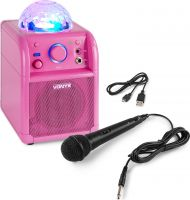SBS50P BT Party Speaker LED Ball Pink